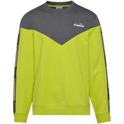 Υφασμάτινα Άνδρας Φούτερ Diadora 502176428 Πράσινος