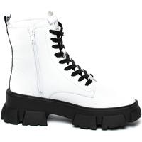 Παπούτσια Γυναίκα Μπότες Steve Madden SMSTANKER-WHTLEA λευκό