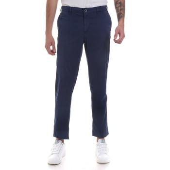 Υφασμάτινα Άνδρας Παντελόνια Chino/Carrot Navigare NV55183 Μπλε