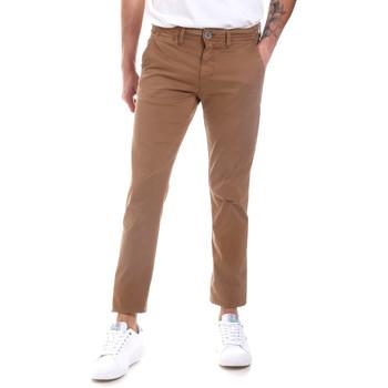 Υφασμάτινα Άνδρας Παντελόνια Chino/Carrot Gaudi 011BU25022 Μπεζ