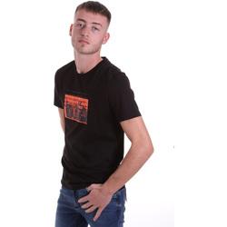 Υφασμάτινα Άνδρας T-shirt με κοντά μανίκια Antony Morato MMKS01880 FA100144 Μαύρος