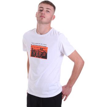 Υφασμάτινα Άνδρας T-shirt με κοντά μανίκια Antony Morato MMKS01880 FA100144 λευκό