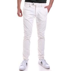 Υφασμάτινα Άνδρας Παντελόνια Chino/Carrot Antony Morato MMTR00572 FA310002 λευκό