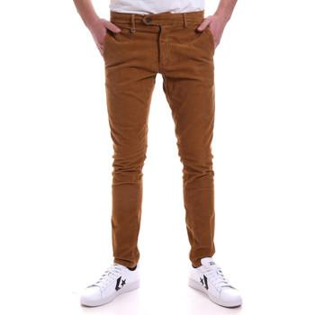 Υφασμάτινα Άνδρας Παντελόνια Chino/Carrot Antony Morato MMTR00572 FA310002 καφέ