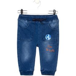 Υφασμάτινα Κορίτσι Skinny Τζιν  Losan 027-6017AL Μπλε