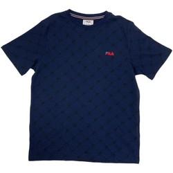 Υφασμάτινα Αγόρι T-shirt με κοντά μανίκια Fila 688084 Μπλε