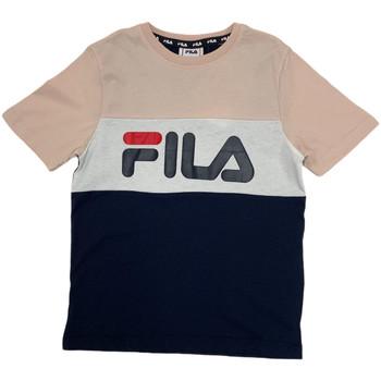 Υφασμάτινα Παιδί T-shirt με κοντά μανίκια Fila 688141 Ροζ