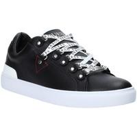 Παπούτσια Άνδρας Χαμηλά Sneakers Guess FM5BAR LEA12 Μαύρος
