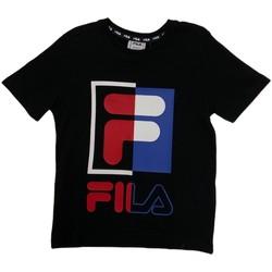 Υφασμάτινα Παιδί T-shirt με κοντά μανίκια Fila 688149 Μπλε