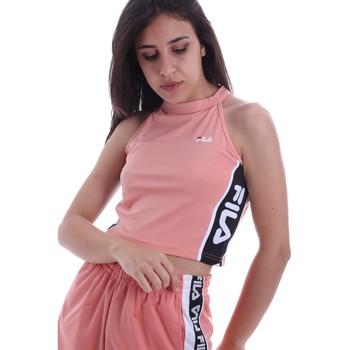 Υφασμάτινα Γυναίκα Μπλούζες Fila 687694 Ροζ