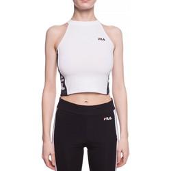 Υφασμάτινα Γυναίκα Μπλούζες Fila 687694 λευκό