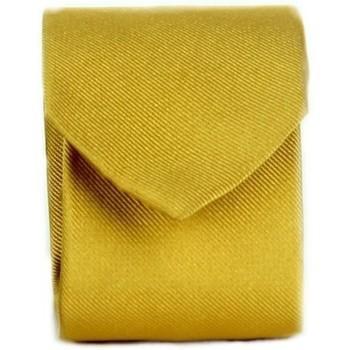 Υφασμάτινα Άνδρας Γραβάτες και Αξεσουάρ Michi D'amato CRAVATTA 002 Yellow