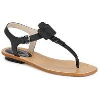 Παπούτσια Γυναίκα Σανδάλια / Πέδιλα Marc Jacobs CHIC CALF Black