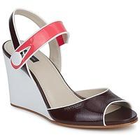 Παπούτσια Γυναίκα Σανδάλια / Πέδιλα Marc Jacobs VOGUE GOAT Bordeaux / Ροζ