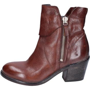 Παπούτσια Γυναίκα Μποτίνια Moma Μπότες αστραγάλου BJ192 καφέ