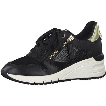 Xαμηλά Sneakers Tamaris Flats Casual Black Gold [COMPOSITION_COMPLETE]