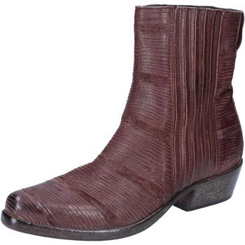 Παπούτσια Γυναίκα Μποτίνια Moma Μπότες αστραγάλου BJ206 καφέ