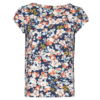 Υφασμάτινα Γυναίκα Μπλούζες Betty London OMISS Marine / Ροζ