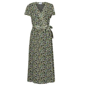 Υφασμάτινα Γυναίκα Μακριά Φορέματα Betty London OMADAM Black / Multicolour