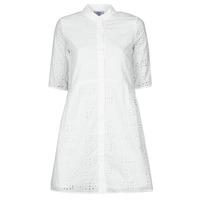 Υφασμάτινα Γυναίκα Κοντά Φορέματα Betty London ODA Άσπρο