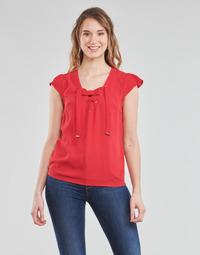 Υφασμάτινα Γυναίκα Μπλούζες Moony Mood OPAK Red