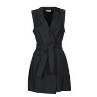 Υφασμάτινα Γυναίκα Κοντά Φορέματα Moony Mood OLALA Black