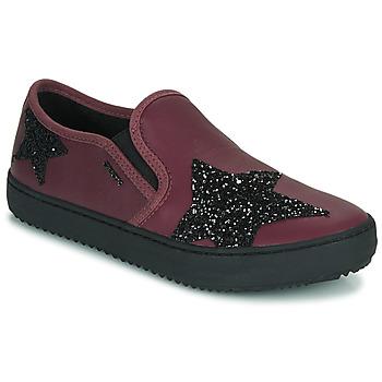Παπούτσια Κορίτσι Χαμηλά Sneakers Geox J KALISPERA FILLE Violet
