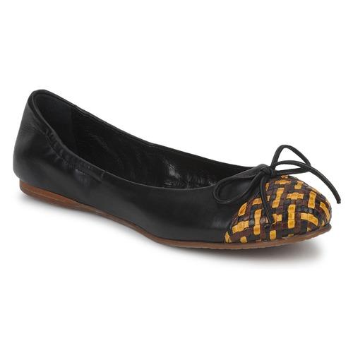 Παπούτσια Γυναίκα Μπαλαρίνες Stéphane Kelian WALLY Black / Yellow