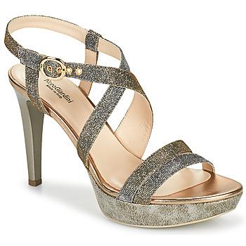 Παπούτσια Γυναίκα Σανδάλια / Πέδιλα NeroGiardini KARKI Grey / Gold