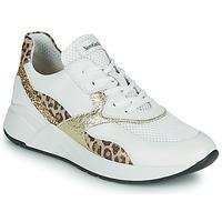 Παπούτσια Γυναίκα Χαμηλά Sneakers NeroGiardini FIDEL Άσπρο / Leopard