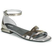 Παπούτσια Γυναίκα Σανδάλια / Πέδιλα NeroGiardini TOMMA Silver