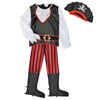 Υφασμάτινα Αγόρι Μεταμφιέσεις Fun Costumes COSTUME ENFANT PIRATE TOM Multicolour