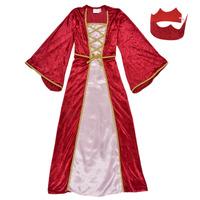 Υφασμάτινα Κορίτσι Μεταμφιέσεις Fun Costumes COSTUME ENFANT REINE DE LA RENAISSANCE Multicolour
