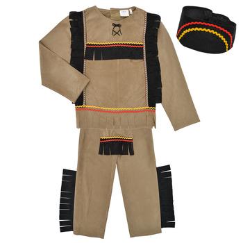 Υφασμάτινα Αγόρι Μεταμφιέσεις Fun Costumes COSTUME ENFANT INDIEN BIG BEAR Multicolour