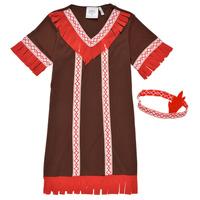 Υφασμάτινα Κορίτσι Μεταμφιέσεις Fun Costumes COSTUME ENFANT INDIENNE FOX KITTEN Multicolour
