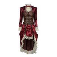 Υφασμάτινα Γυναίκα Μεταμφιέσεις Fun Costumes COSTUME ADULTE LADY STEAMPUNK Multicolour