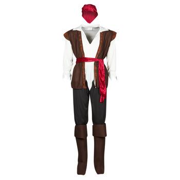 Υφασμάτινα Άνδρας Μεταμφιέσεις Fun Costumes COSTUME ADULTE PIRATE THUNDER Multicolour