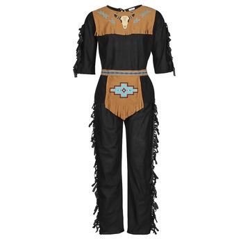 Υφασμάτινα Άνδρας Μεταμφιέσεις Fun Costumes COSTUME ADULTE INDIEN NOBLE WOLF Multicolour