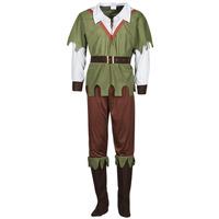 Υφασμάτινα Άνδρας Μεταμφιέσεις Fun Costumes COSTUME ADULTE FOREST HUNTER Multicolour