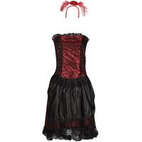 Υφασμάτινα Γυναίκα Μεταμφιέσεις Fun Costumes COSTUME ADULTE SALOON GIRL Multicolour
