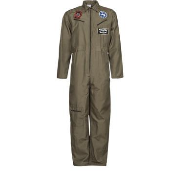Υφασμάτινα Άνδρας Μεταμφιέσεις Fun Costumes COSTUME ADULTE PILOTE JET Multicolour