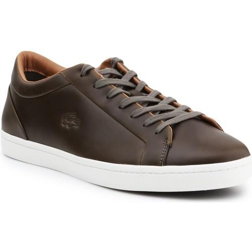 Παπούτσια Άνδρας Χαμηλά Sneakers Lacoste Straightset 316 3 CAM 7-32CAM00971X5 brown