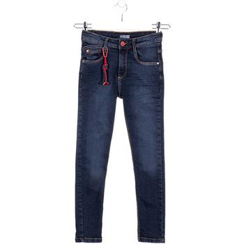 Υφασμάτινα Παιδί Skinny Τζιν  Losan 023-6028AL Μπλε
