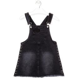 Υφασμάτινα Κορίτσι Ολόσωμες φόρμες / σαλοπέτες Losan 024-7000AL Μαύρος
