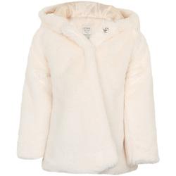 Υφασμάτινα Κορίτσι Παλτό Losan 026-2795AL λευκό