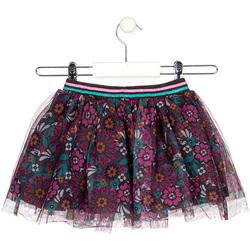 Υφασμάτινα Κορίτσι Φούστες Losan 026-7026AL Γκρί