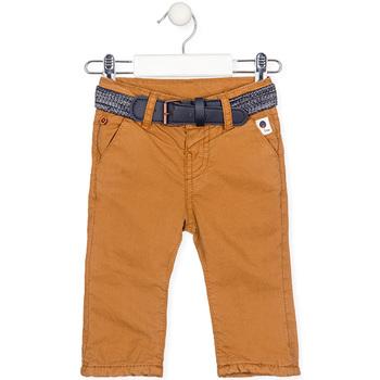 Υφασμάτινα Αγόρι Παντελόνια Losan 027-9003AL Κίτρινος