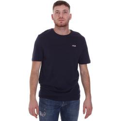 Υφασμάτινα Άνδρας T-shirt με κοντά μανίκια Fila 682201 Μπλε