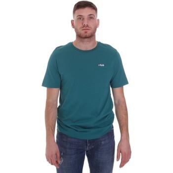 Υφασμάτινα Άνδρας T-shirt με κοντά μανίκια Fila 682201 Πράσινος