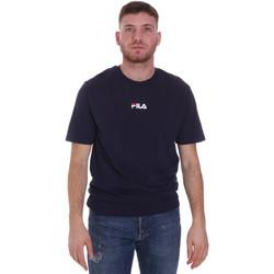 Υφασμάτινα Άνδρας T-shirt με κοντά μανίκια Fila 687990 Μπλε